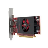 HP AMD FirePro W2100 - Graphics card - FirePro W2100 - 2 GB DDR3 - PCI Express 3.0 x8 low profile - 2 x DisplayPort - promo - for Workstation Z440, Z640, Z840 (J3G91AT)
