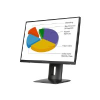 "HP Z24n - LED monitor - 24"" - 1920 x 1200 - IPS - 300 cd/m� - 1000:1 - 8 ms - DVI-D, DisplayPort, Mini DisplayPort, HDMI (MHL) - black - Smart Buy"