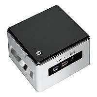Intel Next Unit of Computing Kit NUC5i5RYH - Barebone - UCFF - 1 x Core i5 5250U / 1.6 GHz - HD Graphics 6000 - GigE, Bluetooth 4.0 LE - WLAN : 802.11a/b/g/n/ac, Bluetooth 4.0 LE