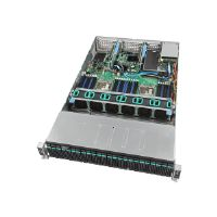 "Intel Server System R2224WTTYS - Server - rack-mountable - 2U - 2-way - RAM 0 GB - SAS - hot-swap 2.5"" - no HDD - GigE, 10 GigE - Monitor : none"
