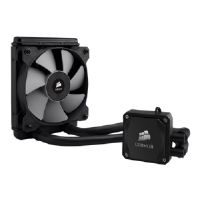 Corsair Hydro Series H60 High Performance Liquid CPU Cooler - Liquid cooling system - ( LGA1156 Socket, Socket AM2, LGA1366 Socket, Socket AM3, LGA1155 Socket, Socket FM1, Socket FM2 ) - copper with a