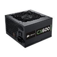 Corsair CX600 - Power supply ( internal ) - ATX12V 2.3/ EPS12V - 80 PLUS Bronze - AC 100-240 V - 600 Watt - active PFC - United States - black