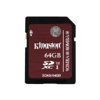 Kingston - Flash memory card - 64 GB - UHS Class 3 - SDXC UHS-I