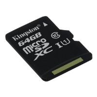 Kingston - Flash memory card - 64 GB - UHS Class 1 / Class10 - microSDXC UHS-I (SDC10G2/64GBSP)