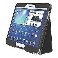 Kensington Comercio Soft Folio Case & Stand - Protective case for web tablet - for Samsung Galaxy Tab 3 (10.1 in) - K97115WW
