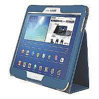 Kensington Comercio Soft Folio Case & Stand - Protective case for web tablet - blue - for Samsung Galaxy Tab 3 (10.1 in) (K97114WW)