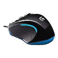 Logitech Gaming Mouse G300s - Mouse - optical - 9 buttons - wired - USB (910-004360)