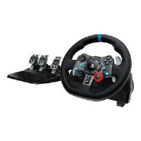 Logitech G29 Driving Force - Wheel and pedals set - wired - for PC, Sony PlayStation 3, Sony PlayStation 4