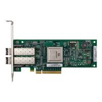 Lenovo ThinkServer QLE2562 Dual Port 8 Gb Fibre Channel HBA by Qlogic - Host bus adapter - 8Gb Fibre Channel x 2 - for ThinkServer RD340; RD440; RD540; RD640; TD340