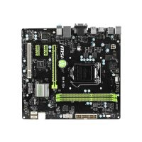MSI H81M ECO - Motherboard - micro ATX - LGA1150 Socket - H81 - USB 3.0 - Gigabit LAN - onboard graphics (CPU required) - 8-channel audio