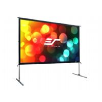 Elite Screens Yard Master 2 Series OMS135H2 - Projection screen with legs - 135 in ( 343 cm ) - 16:9 - CineWhite