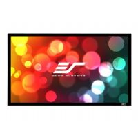 Elite Screens SableFrame 2 Series - Projection screen - 100 in ( 254 cm ) - 16:9 - CineWhite - black