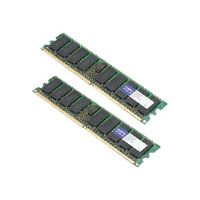 AddOn 8GB Factory Original FBDIMM for Dell A6993740 - DDR2 - 8 GB : 2 x 4 GB - FB-DIMM 240-pin - 667 MHz / PC2-5300 - CL5 - 1.8 V - fully buffered - ECC - for Dell PowerEdge 19XX, M600, R900; Precisio