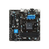 MSI A88XM-E45 V2 - Motherboard - micro ATX - Socket FM2+ - AMD A88X - USB 3.0 - Gigabit LAN - onboard graphics (CPU required) - HD Audio (8-channel)