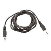 Revolabs Cables - Audio cable - mini-phone stereo 3.5 mm  (M) - 3 ft (07-35MBTO35M4-01)