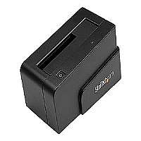"StarTech.com SATA Hard Drive Docking Station eSATA USB 3.0 to SATA HDD Dock - Storage controller with power indicator - 2.5"" / 3.5"" shared - SATA 3Gb/s - 300 MBps - eSATA 3Gb/s, USB 3.0 - black"