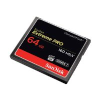 SanDisk Extreme Pro - Flash memory card - 64 GB - 1000x/1067x - CompactFlash