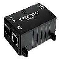 TRENDnet TPE-113GI - Power injector - AC 100-240 V - 15.4 Watt - 1 output connector(s)