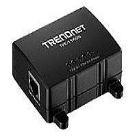 TRENDnet TPE-114GS - PoE splitter - 48 V - 15.4 Watt - 1 output connector(s) - for TRENDnet 300Mbps Wireless Easy-N-Upgrader TEW-637AP, TPE-80WS Web Smart PoE Switch