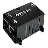 TRENDnet TPE-103I - Power injector - AC 100-240 V - 15.4 Watt - 1 output connector(s)