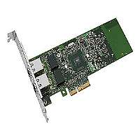 Intel Gigabit ET Dual Port Server Adapter - Network adapter - PCI Express x4 low profile - Gigabit LAN - 1000Base-T - 2 ports - for ThinkServer RD330; TS130