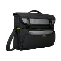 "Targus CityGear II Hybrid Messenger - Notebook carrying case - 17"" - gray, black"