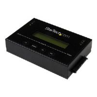 Clone or erase 2.5in/3.5in SATA hard drives, without a host computer connection. The SATDUP11 standalone hard drive duplicator eraser enables you t...
