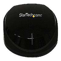 StarTech Wireless Audio Receiver with NFC - Bluetooth, Wolfson DAC, aptX Audio Codec, LED Indicator, Black - BT2A