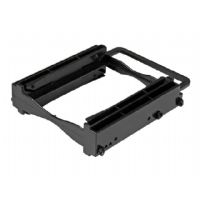 "StarTech.com Dual 2.5"" SSD/HDD Mounting Bracket- 3.5"" Drive Bay -Tool-Less - Storage bay adapter - 3.5"" to 2 x 2.5"" - black (BRACKET225PT)"