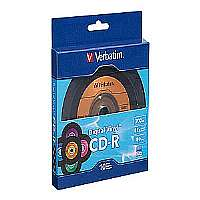 VERBATIM 97935 700MB 80-MINUTE DIGITAL VINYL CD-R(R), 10 PK