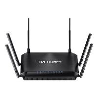 TRENDnet TEW-828DRU - Wireless router - 4-port switch - GigE - 802.11a/b/g/n/ac - Dual Band