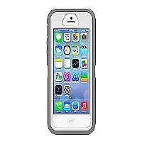 OtterBox Defender Series - Protective cover for cellular phone - high-impact polycarbonate, synthetic rubber - glacier - for Apple iPhone 5s