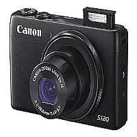 Canon PowerShot S120 - Digital camera - compact - 12.1 Mpix - 5 x optical zoom - Wi-Fi - black