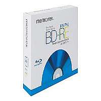 Memorex - 3 x BD-RE - 25 GB 2x - jewel case