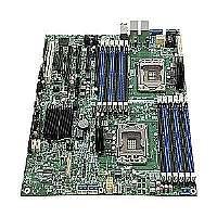 Intel Server Board S2400GP4 - Motherboard - SSI EEB - LGA1356 Socket - 2 CPUs supported - C602-A - 4 x Gigabit LAN - onboard graphics