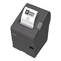 Epson TM T88V - Receipt printer - B/W - thermal line - Roll (3.15 in) - up to 708.7 inch/min - Parallel, USB