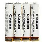 Canon NB 4-300 - Camera battery 4 x AA NiMH - for PowerShot A1100, A2100, A480, A490, A495, E1, SX1, SX10, SX110, SX120, SX130, SX150, SX20