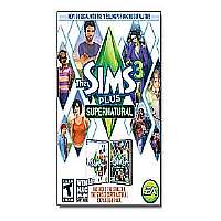 Sims 3 Plus Supernatural Limited PC/MAC
