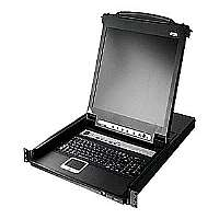 "ATEN Slideaway CL5708M - KVM console - 17"" - rack-mountable - 1280 x 1024 - 1U"