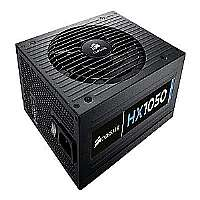 Corsair HX1050 - Power supply ( internal ) - ATX12V 2.31/ EPS12V 2.92 - 80 PLUS Gold - AC 100-240 V - 1050 Watt - active PFC - United States