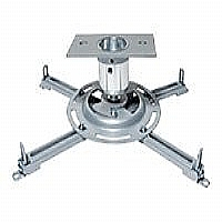 Epson Universal Projector Ceiling Mount - Mounting kit ( adapter plate, extension column connector ) for projector - silver - ceiling mountable - for EMP 17XX, 400; PowerLite 17XX, 18XX, 400, 61XX, 77
