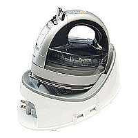 Panasonic Freestyle NI-WL600 - Steam generator iron - stainless steel sole plate - 1500 W - silver/gray with auto shut-off