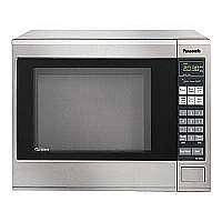 Panasonic Genius Prestige NN-SN661S - Microwave oven - freestanding - 1.2 cu. ft - 1200 W - stainless steel