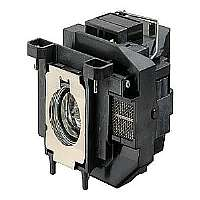 Epson - Projector lamp - UHE - 200 Watt - 4000 hour(s) (standard mode) / 5000 hour(s) (economic mode) - for Epson VS210, VS310, VS315W; EB S11, X12, X12 ES & lamp warranty; PowerLite 1221, 1261W