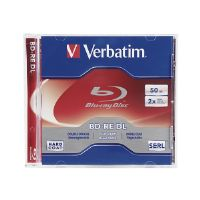 Verbatim - BD-RE DL - 50 GB 2x - jewel case