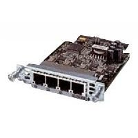 Cisco - Voice / fax module - analog ports: 4 - for Cisco 28XX, 28XX 2-pair, 28XX 4-pair, 28XX V3PN, 29XX, 38XX, 38XX V3PN, 39XX; IAD 2430 (VIC3-4FXS/DID=)