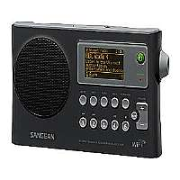 Sangean-WFR-28 - Clock radio - black
