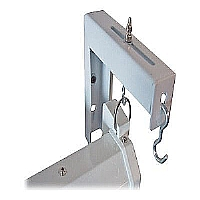 Elite ZVMAXLB6-W - Mounting component ( angle brackets ) for projection screen - white (pack of 2 ) - for Manual Series; VMAX Series