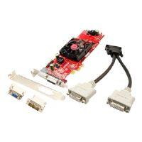 VisionTek Radeon 4350 SFF - Graphics card - Radeon HD 4350 - 512 MB DDR2 - PCIe low profile - 4 x DVI, HDTV-out