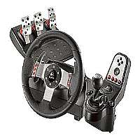 Logitech G27 Racing Wheel - Wheel, pedals and gear shift lever set - 16 button(s) - for Sony PlayStation 2, PC, Sony PlayStation 3